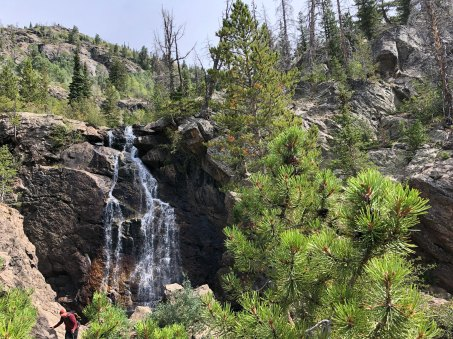 Middle section of Fish Creek Falls