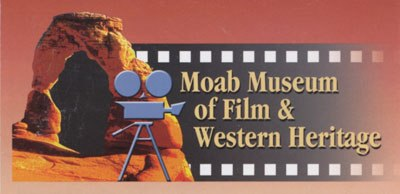 Moab Museum of Film and Western Heritage sign